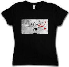 VU VOLUME UNITS METER II DAMEN T-SHIRT Decibel Music Bass Record Vinyl Stereo