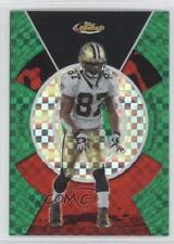 2005 Topps Finest Green X-Fractor #46 Joe Horn New Orleans Saints Football Card