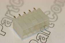 2x 10 way PCB Header MOLEX 39-28-1103 mini-fit JR verticale