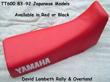Yamaha TT600 83-92 34K 36A 59X Seatcover Coprisella Sitzbezug Housse de Selle