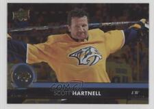 2017 Upper Deck Silver Foil #359 Scott Hartnell Nashville Predators Hockey Card
