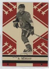 2011 O-Pee-Chee Retro Blank Back #ANBE Andre Benoit Ottawa Senators Hockey Card