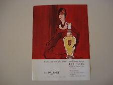advertising Pubblicità 1961 JEAN D'ALBRET ECUSSON