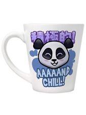 Handa Panda Latte Mug And Chill White