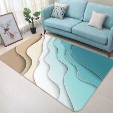 3D Sand Ocean Texture 2 Non Slip Rug Mat Room Mat Quality Elegant Photo Carpet