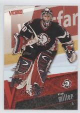 2003-04 Upper Deck Victory #25 Ryan Miller Buffalo Sabres Hockey Card