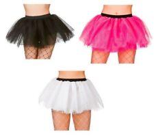 Ladies Neon Tutu Fancy Dress Accessory 1980s 80s Punk Tutus