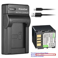 Kastar Battery Slim Charger for JVC BN-VF714 & JVC GZ-MG30EY GZ-MG30EZ GZ-MG30U