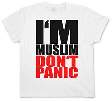 T-SHIRT I´M MUSLIM DON´T PANIC I - Islam Moslem Türkiye S M L XL XXL XXXL Shirt