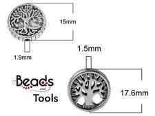Tree of Life Bead - Metal Tree of Life - Metal Beads - Yoga - BEADS AND TOOLS