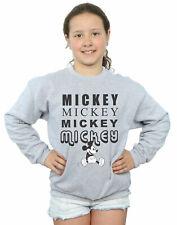 Disney Niñas Mickey Mouse Sitting Camisa De Entrenamiento