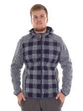 CMP giacca di pile Cardigan Giacca con cappuccio Blau knittech TRASPIRANTE