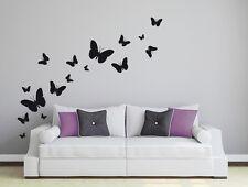 Wandaufkleber: 16 Schmetterlinge Wohnzimmer Geburt Kinderzimmer Baby WandTattoo