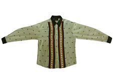 Microfiber Shirt Long Sleeve Exclusive Crocodile Design Made in USA