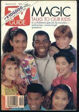 TV GUIDE MARCH 21, 1992 MAGIC JOHNSON COVER