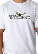 Tiger Moth T Shirt 100% Cotton  FREE UK P&P Aircraft Bi Plane