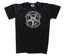 Dios ist emplea - lata yo ayuda - diablo satán Camiseta S-XXXL