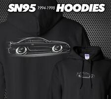 SN95 Mustang Hoodie 1994 1995 1996 1997 1998 Ford GT COBRA 302 4.6