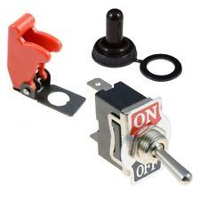 Posición ON-OFF 2 estándar 12mm Interruptor de palanca película SPST + Cubierta