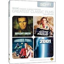 Forbidden Planet, Soylent Green, Time Machine, 2001 Space Odyssey - 4 Films NEW