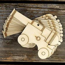 10x legno PIRATE CANNON Craft forme 3mm compensato STORICO ARMA MILITARE