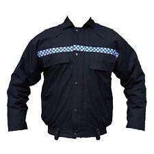 Ex Police Black Goretex Waterproof Blouson Bomber Jacket Security GBJ02B