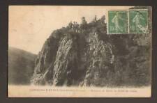 EVAUX (23) ROCHERS DE BORD , TABLE DE CESAR animé 1922