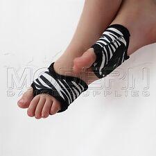 Dance Foot Thongs Foot undies ZEBRA