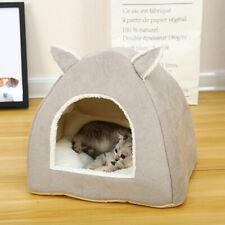 Faltbar Warm Katzenbett Katzenhöhle Hundebett Hündchen Schlafplatz Schlafsack