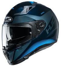 Casco moto Hjc i70 Tas Mc2 blu helmet casque integral helm