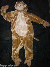 Costume Scimmia 98 104 bambini Carnevale per di NUOVO