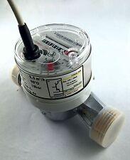 "Volumenmessteil Impulsausgang Optokoppler  Qn 2,5m³/h  10/100 Imp./L  1""AG 130mm"