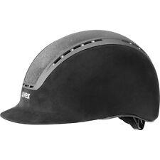 Uvex helmet suxxeed glamour black Swarovski crystals black suede imitation glitt