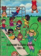 1992 ELEPHANT'S FORK ELEMENTARY SCHOOL YEARBOOK, SUFFOLK, VA
