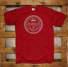 T-Shirt Fun J343 Barolo Osteria Italia Chi non beve in compagnia ladro o spia