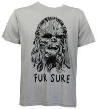 Authentic STAR WARS Fur Sure Chewbacca Slim-Fit T-Shirt S M L XL 2XL NEW
