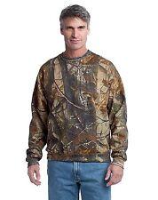 Russell Outdoors Mens Crew Sweatshirt Size S-3XL Realtree AP Camo NEW Sweatshirt
