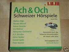 9xCD BOX - ACH & OCH - QUERSCHNITT DURCH DAS SCHWEIZER HÖRSPIELSCHAFFEN - DRS