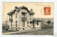 ATTICHY (60) GREFFE DE LA JUSTICE DE PAIX animée 1906