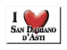 CALAMITA PIEMONTE FRIDGE MAGNET MAGNETE SOUVENIR LOVE SAN DAMIANO D'ASTI (AT)--