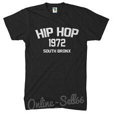 Hip Hop South Bronx Brooklyn New York NYC Mens Tshirt Hipster Street Dope Top