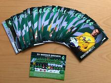 SV Werder Bremen Autogrammkarte 2012-13 mit WH original signiert 1 AK aussuchen