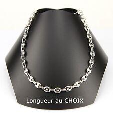 collar de cadena calabrotes 6,5mm acero inoxidable a elegir