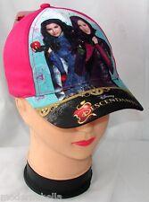 rosa DESCENDANTS cappello con visiera Estivo Bambina Baseball tg 52 e 54 cotone