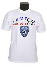 Tee-shirt adulte supporter foot bastia réf 18