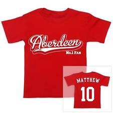 Aberdeen Fútbol Personalizado De Niño/Niña Camiseta Algodón