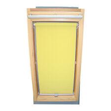 Abdunkelungsrollo Rollo für Velux-Dachfenster GGU/GPU/GHU/GTU in gelb