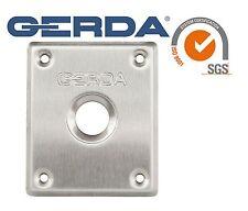 Gerda High Quality Front Chrome Shield For Gerda Locks ZX ZXZ Z2 ZK or ZX Plus
