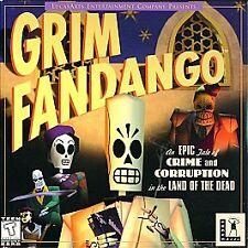 Grim Fandango - PC Jewel Case Version Free Shipping