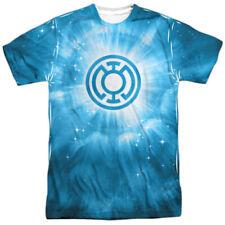 Green Lantern Blue Energy Allover Sublimation Licensed Adult T Shirt